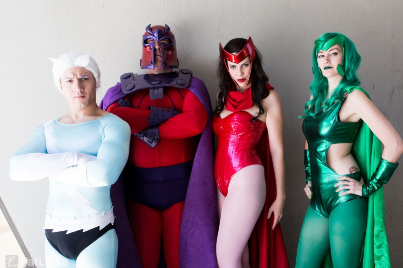 Magneto and Friends (DragonCon 2014) Photography: Pat Loika