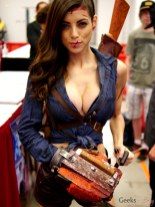 Lady Ash (LeeAnna Vamp) - Montreal Comic Con 2014 - Photo by Geeks are Sexy