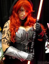 Mara Jade (Alexanne Darkholme Cosplay) - Montreal Comic Con 2014 - Photo by Geeks are Sexy