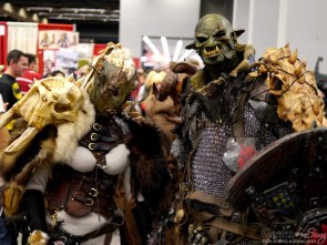 Orcs - Montreal Comic Con 2014 - Photo by Geeks are Sexy