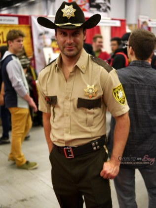 Rick Grimes (The Walking Dead) – Montreal Comic Con 2014 – Photo by Geeks are Sexy