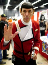 Spock - Montreal Comic Con 2014 - Photo by Geeks are Sexy