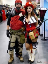 Mordecai and Mad Moxxi (Borderlands) – Comiccon de Québec 2014 – Photo by Geeks are Sexy