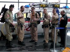 Ghostbusters Montreal - Comiccon de Québec 2014 - Photo by Geeks are Sexy