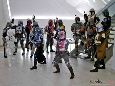 The Mandalorian Mercs Club - Comiccon de Québec 2014 - Photo by Geeks are Sexy