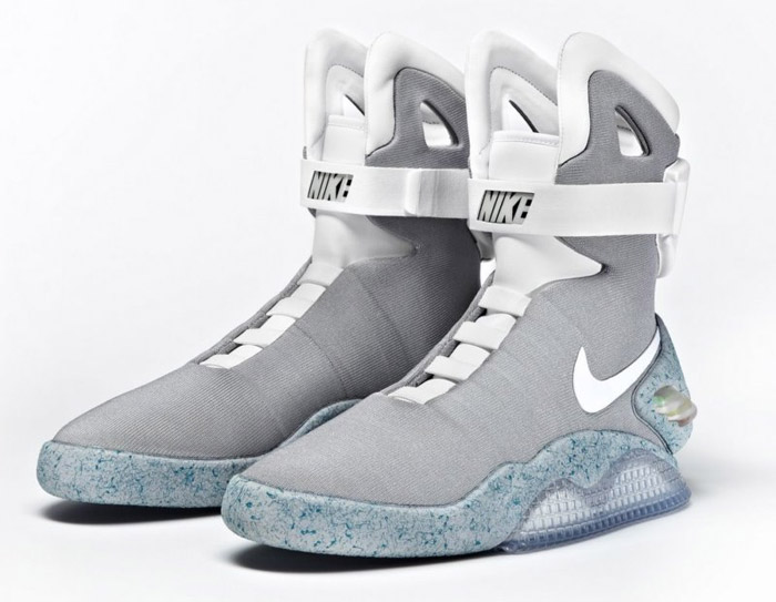 Remember the sick, auto-fitting Back to the Future II shoes? The one's that  the movie predicted people would be wearing in 2015? The above photo proves  that ...