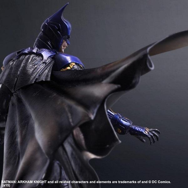 Arkham Knight figure colored 5