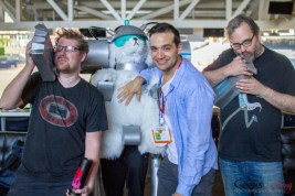 Snuffles (Rick and Morty) - San Diego Comic-Con 2015 - Photo by Geeks are Sexy