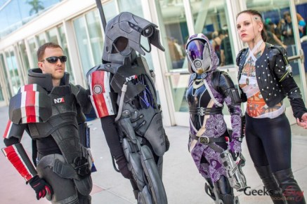 Mass Effect Cosplayers - San Diego Comic-Con 2015 - Photo by Geeks are Sexy