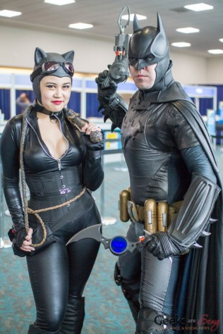 Catwoman and Batman - San Diego Comic-Con 2015 - Photo by Geeks are Sexy