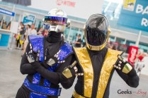 Mashed Up Daft Punk and Mortal Kombat Cosplay - San Diego Comic-Con 2015 - Photo by Geeks are Sexy