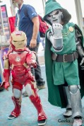 Iron Man and Doctor Doom - San Diego Comic-Con 2015 - Photo by Geeks are Sexy