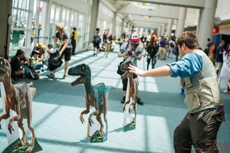 Jurassic World - San Diego Comic-Con 2015 - Photo by Geeks are Sexy