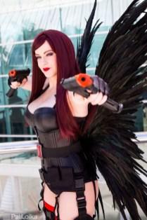 Black Widow Angel - San Diego Comic-Con 2015 - Photo by Pat Loika