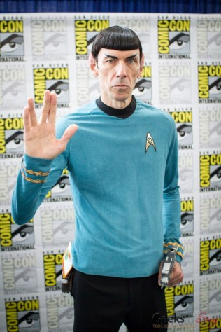 Spock Vegas - San Diego Comic-Con 2015 - Photo by Geeks are Sexy