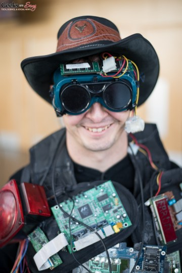 Gadget Man - Quebec City Comic Con 2015 - Photo by Geeks are Sexy