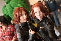Black Widows - Quebec City Comic Con 2015 - Photo by Geeks are Sexy