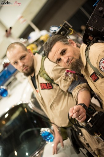 Ghostbusters - Quebec City Comic Con 2015 - Photo by Geeks are Sexy