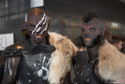 Orcs - Quebec City Comic Con 2015 - Photo by Geeks are Sexy