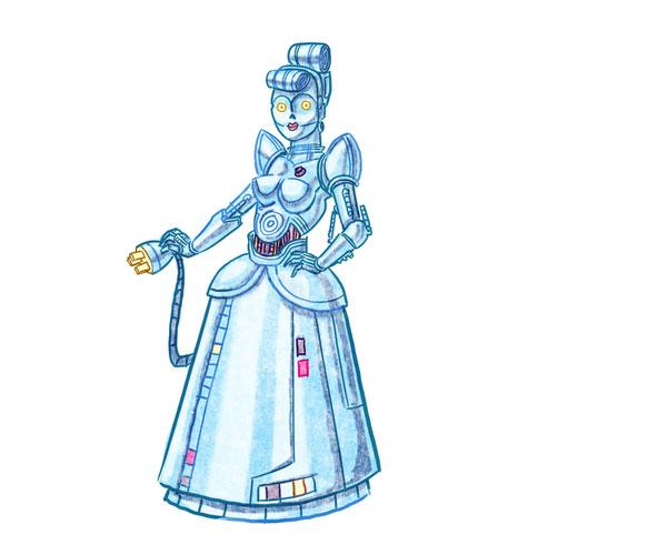 Cinderella as a protocol droid