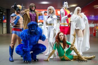 The X-Men - London Super Comic Con 2016 - Photo by Geeks are Sexy