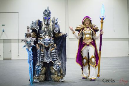 WOW Cosplayers - London Super Comic Con 2016 - Photo by Geeks are Sexy