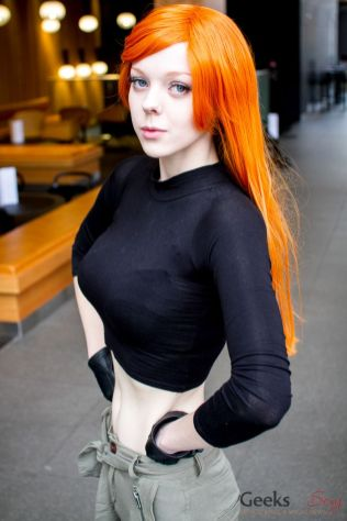 Kim Possible - Catlin Cosplay - London Super Comic Con 2016 - Photo by Geeks are Sexy