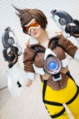 Tracer - Foxtail Cosplay - London Super Comic Con 2016 - Photo by Geeks are Sexy