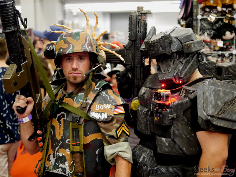Alien Soldiers - Montreal Comiccon 2016 - Photo by Geeks are Sexy