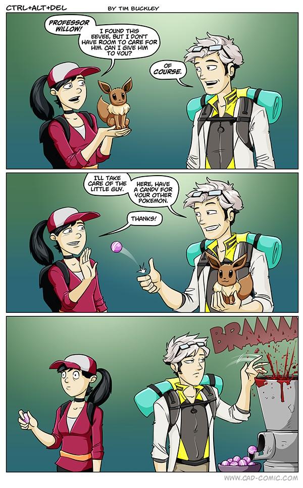 pokémon go candies comic