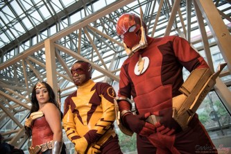 Flash and Friends - Montreal Comiccon 2016 - Photo by Geeks are Sexy