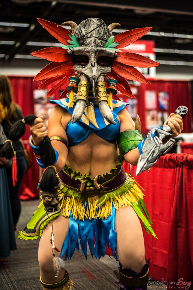 Witch Doctor (Diablo III) - Montreal Comiccon 2016 - Photo by Geeks are Sexy