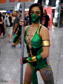 Jade from Mortal Kombat - Montreal Comiccon 2016 - Photo by Geeks are Sexy