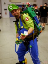 Luigi the Ghostbuster - - Montreal Comiccon 2016 - Photo by Geeks are Sexy