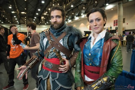 AC and Emily Kaldwin (Dishonored) - Quebec City Comiccon 2016 - Photo by Geeks are Sexy
