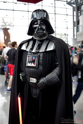 Darth Vader - New York Comic Con 2016 - Photo by Geeks are Sexy