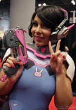 D.VA from Overwatch #2 - New York Comic Con 2016 - Photo by Geeks are Sexy
