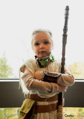 Little Rey (Posted with Permission) - Quebec City Comiccon 2016 - Photo by Geeks are Sexy