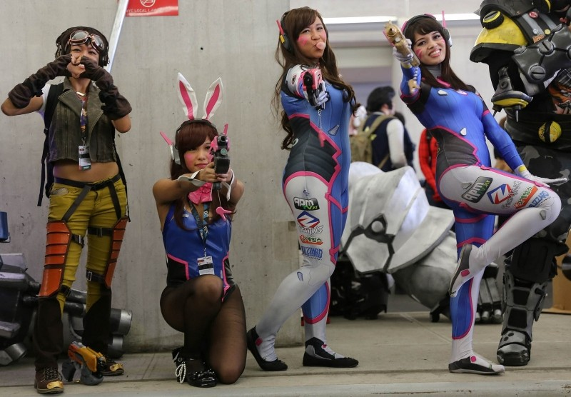 Overwatch Cosplayers - New York Comic Con 2016 - Photo by Richie S (CC)