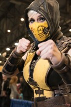 Scorpion (Marie-Claude Bourbonnais) - Quebec City Comiccon 2016 - Photo by Geeks are Sexy