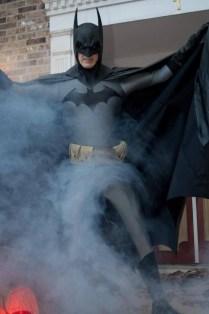 Jim as Batman