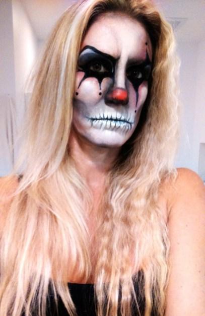 Julie as an Evil Clown