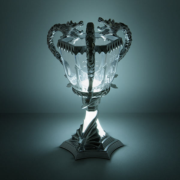 Harry Potter Triwizard Cup And Snape S Patronus Lamps