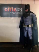 Richard as Batman