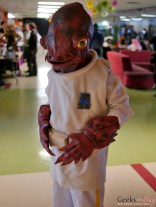Admiral Ackbar (Star Wars) - Geekulture Lanaudiere 2017 - Photo by Geeks are Sexy