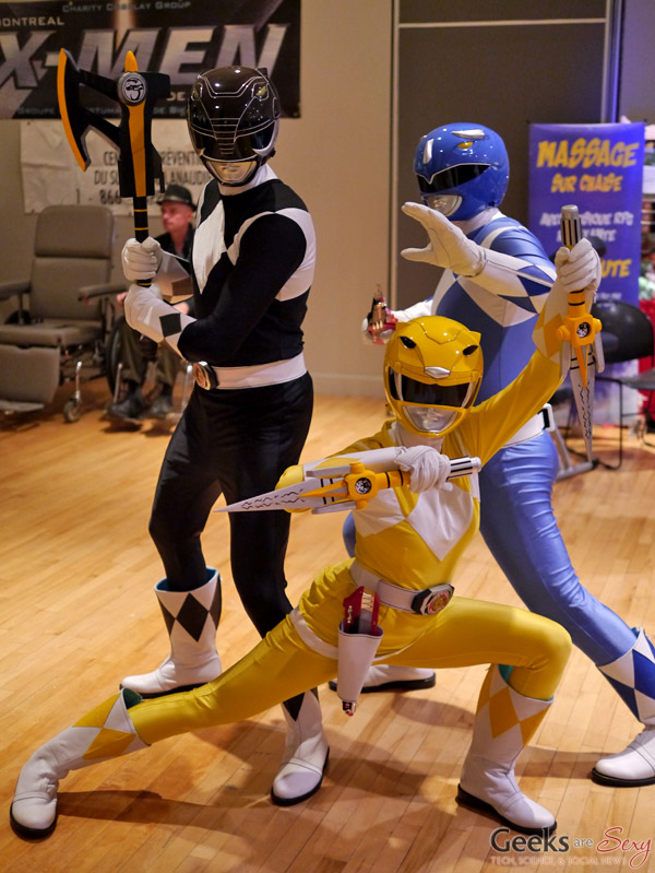 Power Rangers - Geekulture Lanaudiere 2017 - Photo by Geeks are Sexy