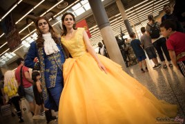Beauty and the Beast - Montreal Comiccon 2017 - Photo by Geeks are Sexy