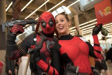 Deadpool and Friend - Montreal Comiccon 2017 - Photo by Geeks are Sexy
