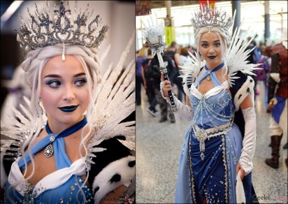 Ice Queen - Montreal Comiccon 2017 - Photo by Geeks are Sexy