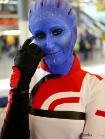 Asari - Montreal Comiccon 2017 - Photo by Geeks are Sexy
